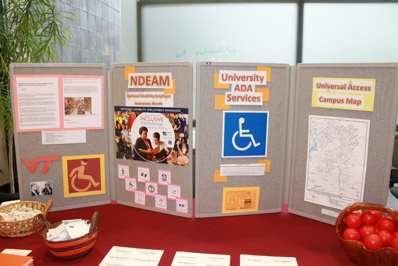 Office of Equity and Access' display.
