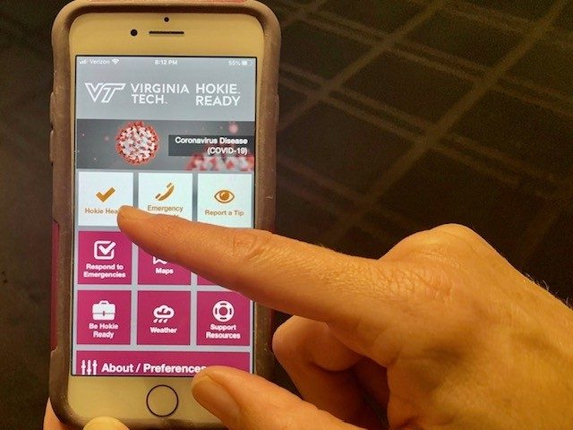 The Hokie Ready app is Virginia Tech's new safety app and replaces the former Live Safe app.